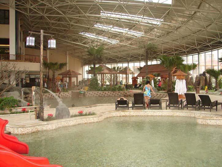 青岛去汤泊温泉,金山滑雪二日游 更多温泉享受 尽在汤