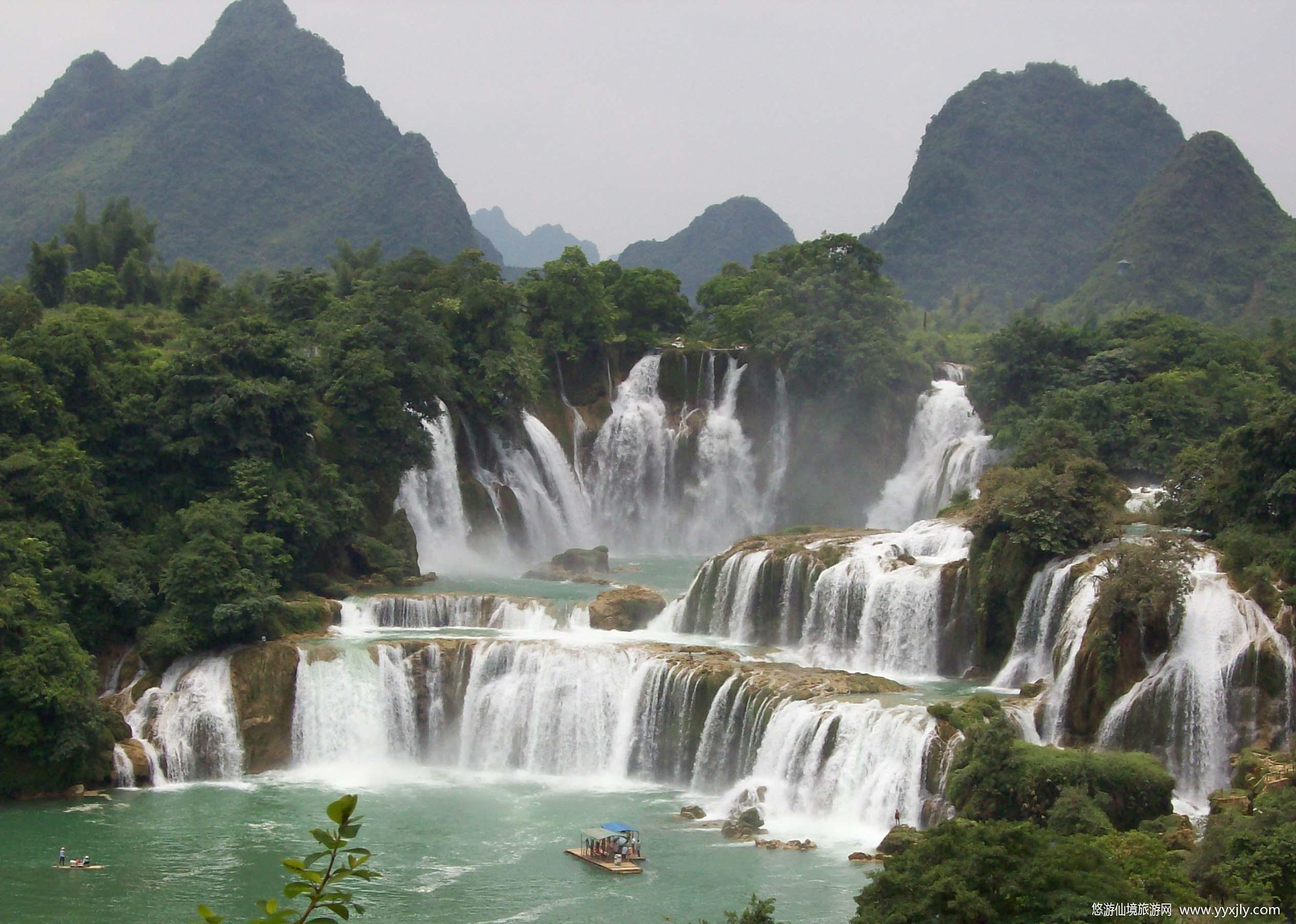 青岛去桂林火车七日游多少钱-广西玩什么-大漓江小